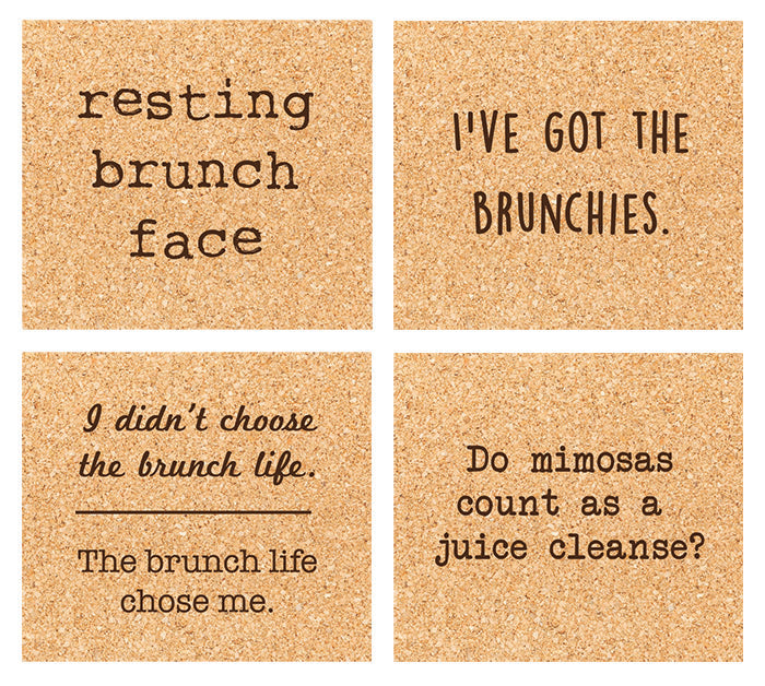 brunchies coaster set