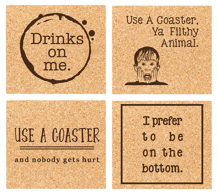 use me coaster set