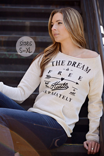 the dream sweatshirt in cream