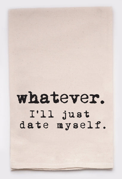 whatever. I'll just date myself - flour sack tea towel