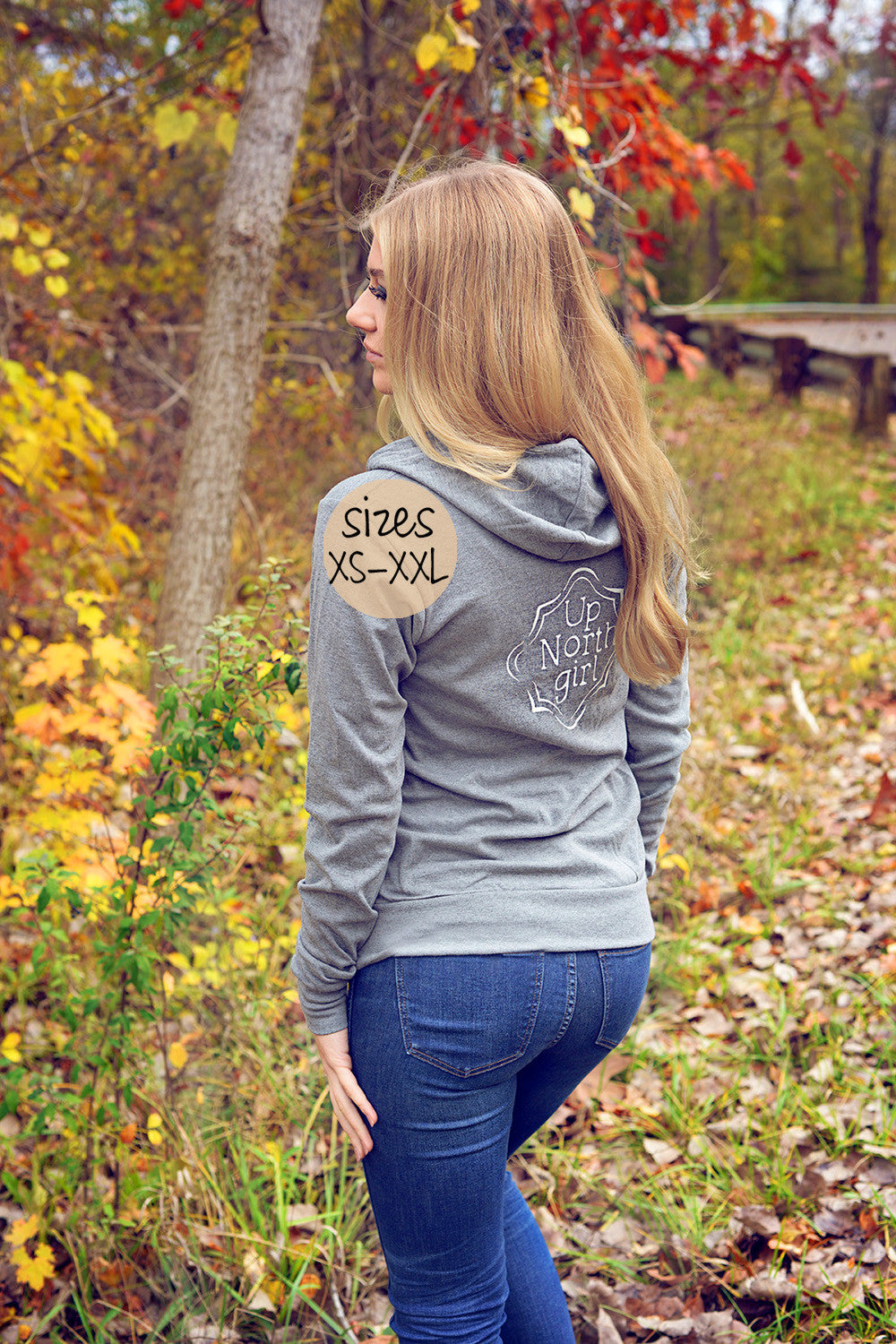 up north girl hoodie