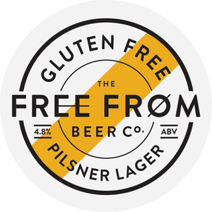 Pilsner Lager - Free From Brewery - 4 pint Container - 4.8% ABV
