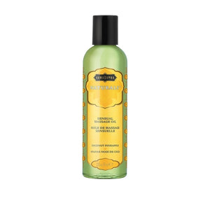 Naturals Massage Oil Coconut Pineapple 2oz Kama Sutra General