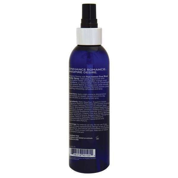 Pure Instinct Body Spray True Blue 6 Oz