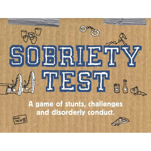Sobriety Test - The Game Chronical Books Books and Games
