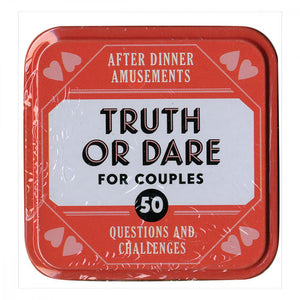 Truth or Dare for Couples Chronical Books Books and Games