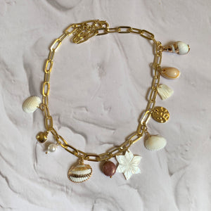 Seaside Shells Choker Necklace