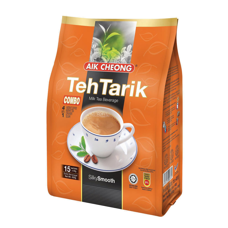 Aik Cheong 3 in 1 Hot Drinks - Pack of 15 x 40g