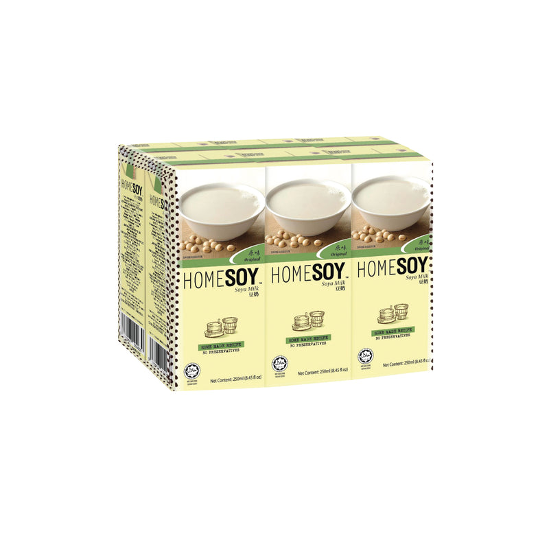 Homesoy Original Soy Milk 236ml - Pack of 6