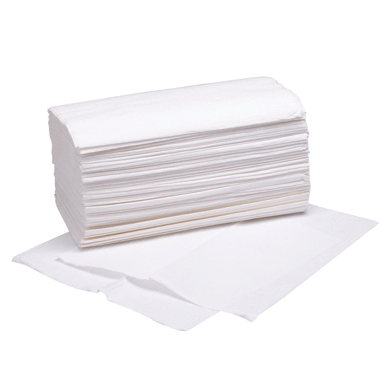 Interfold Hand Towel 250 Sheets 1 Ply - Pack of 16