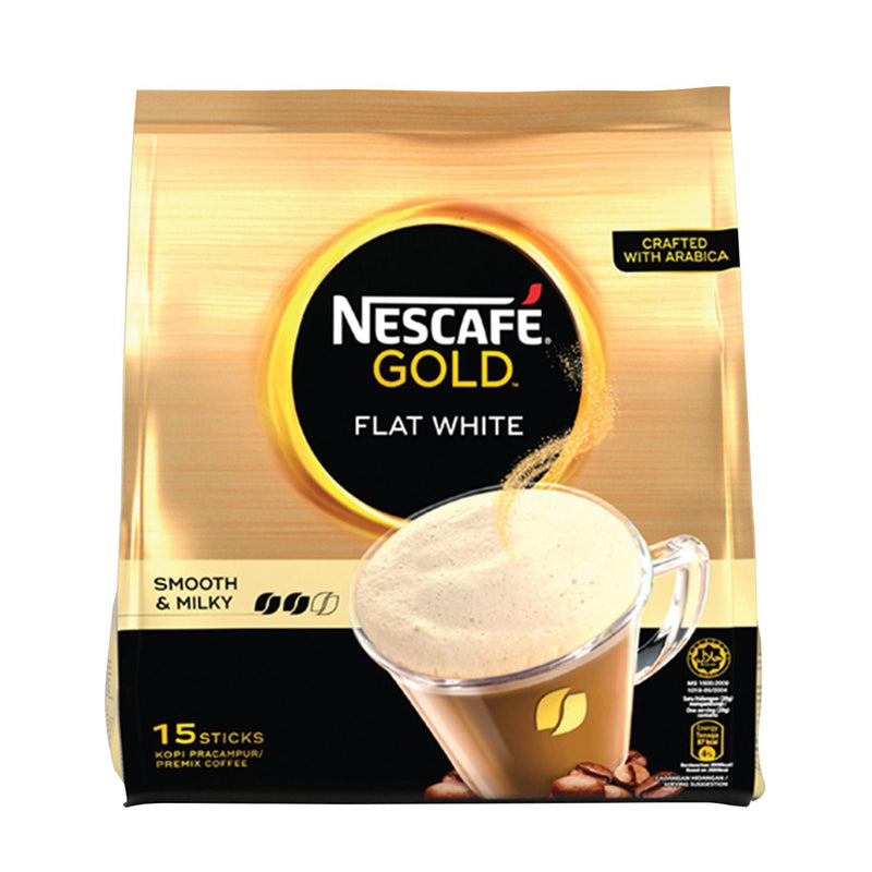 Nescafe Gold Flat White 20g - Pack of 15