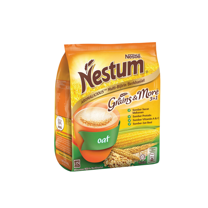 Nestum 3 in 1 Oat Cereal Drink 28g - Pack of 15