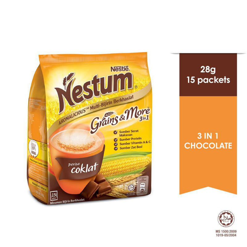 Nestum Chocolate Instant Drink 28g – Pack Of 15