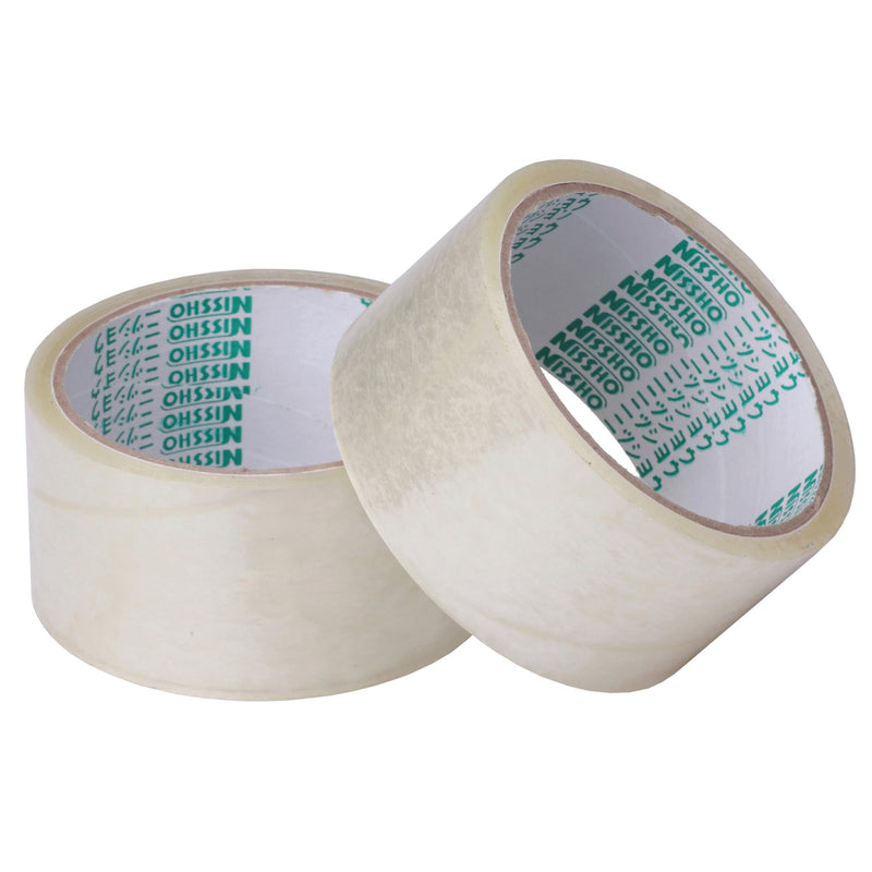 Nissho Opp Packing Tape 48mm X 80mm - Pack of 6