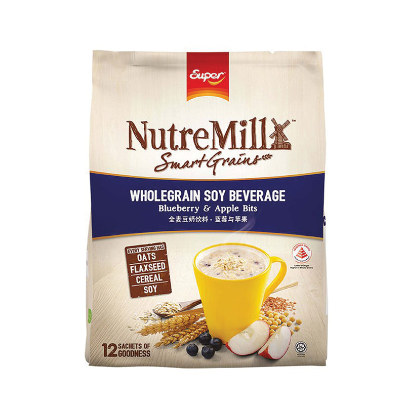 Super Nutremill Smartgrains Blue Berry & Apple Bits 35g - Pack of 12