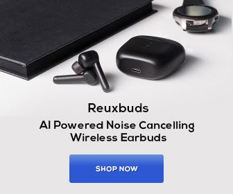 AI powered Noise Cancelling Earbuds