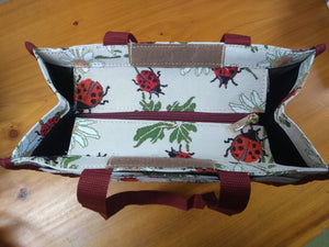 Tapestry Shopper Bag - Poppy