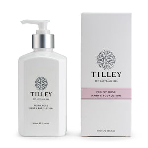 Tilley Peony Rose Hand & Body Lotion 400ml