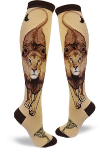 Lion - Knee Highs by Modsocks