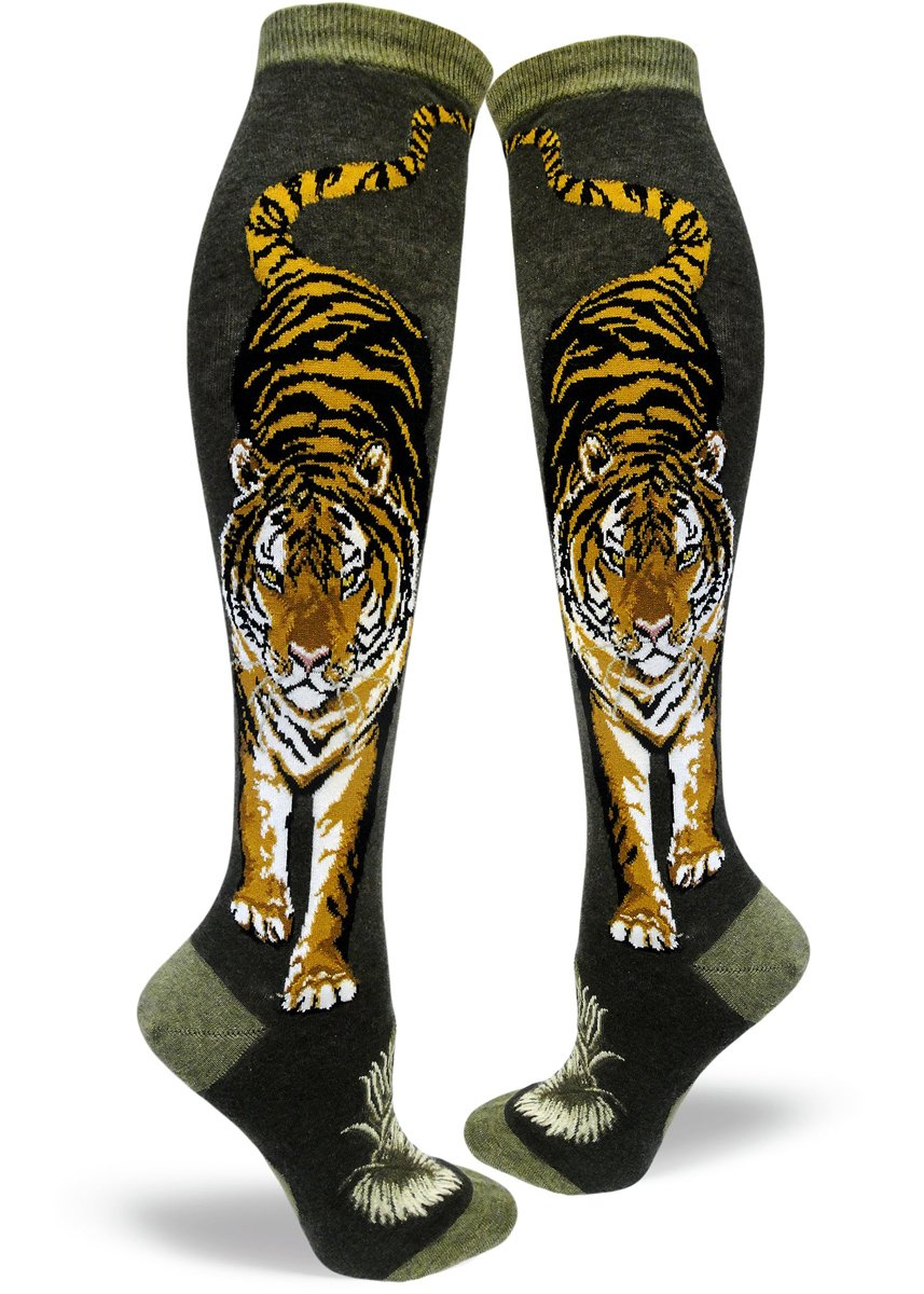 Fierce Tiger - Knee Highs by Modsocks