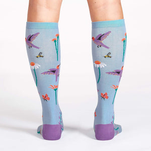 Flight of the Pollinators - Knee Highs by Sock it to Me