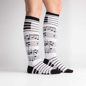 Foot Notes - Knee Highs by Sock it to Me