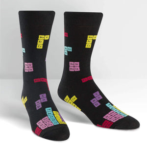 Joining Elements - Men's Crew Socks by Sock it to Me