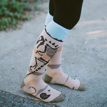 Load image into Gallery viewer, Paleo Party - Knee Highs by Sock it to Me