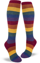 Load image into Gallery viewer, Heather Rainbow - Knee Highs by Modsocks
