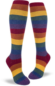 Heather Rainbow - Knee Highs by Modsocks