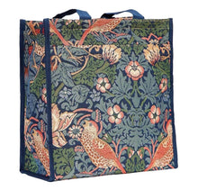 Load image into Gallery viewer, Tapestry Shopper Bag - Strawberry Thief