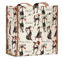 Load image into Gallery viewer, Tapestry Shopper Bag - Catitude