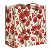Load image into Gallery viewer, Tapestry Shopper Bag - Poppy