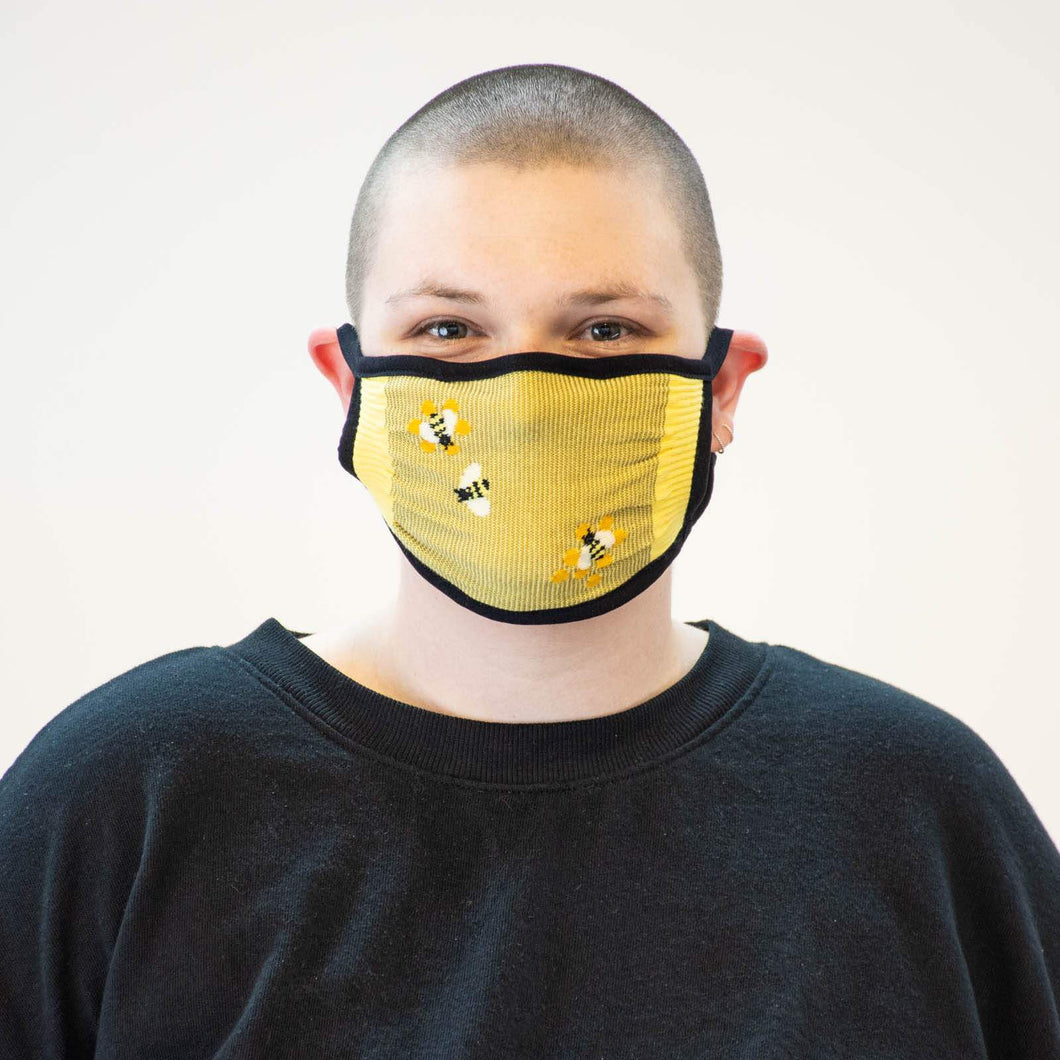 Buzz Words - Standard Face Mask