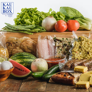 Load image into Gallery viewer, Mediterranean inspired Kau Kau Box Monday