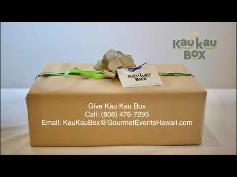 Gift Certificates for Kau Kau Box