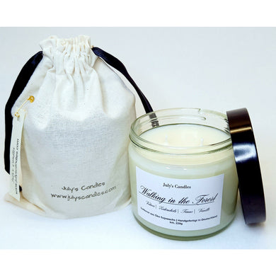 Walking in the Forest, 2-Docht Duftkerze  220g - July's Candles