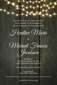 Wedding Invitation Card #H