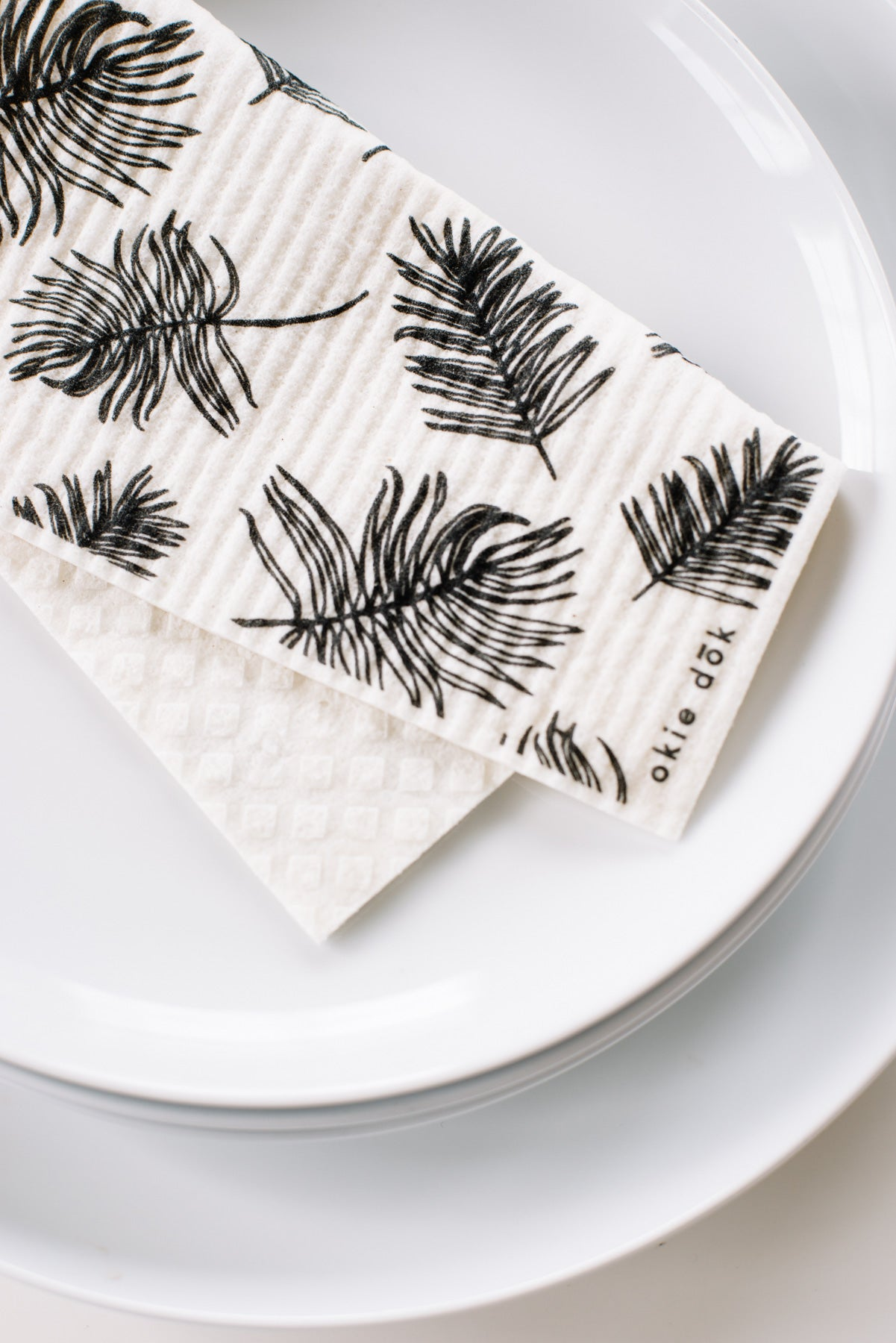 Okie Dok Swedish Dishcloth - Feathers