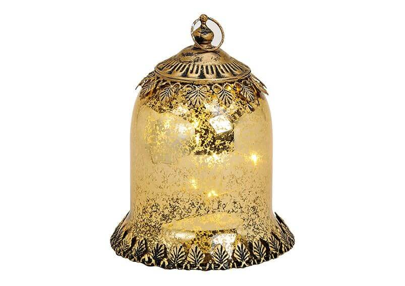 DECORATIUNE ANTIQUE CU LED AURIU - decoratiuni