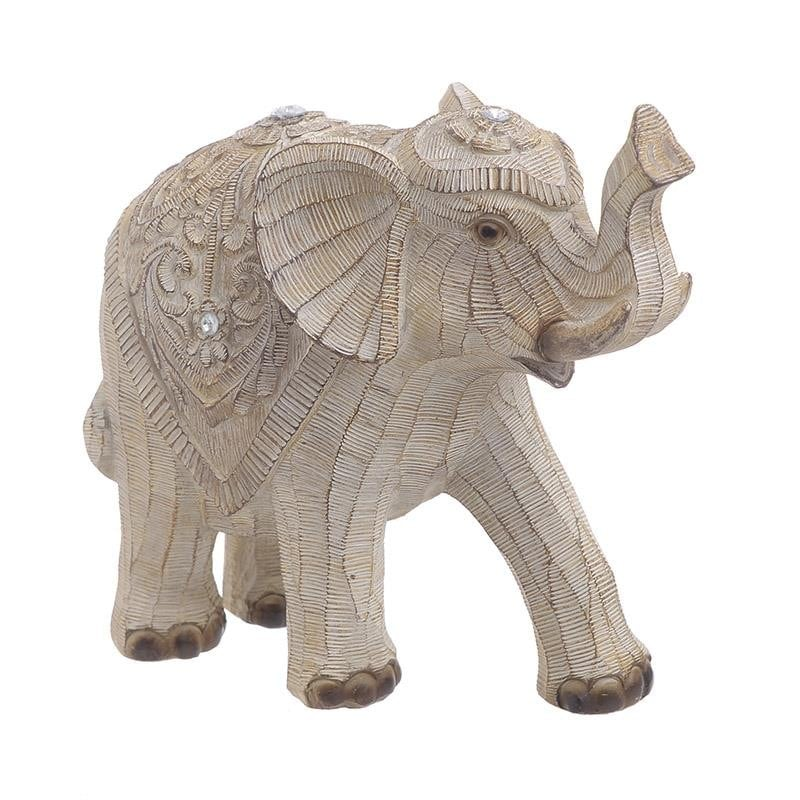 DECORATIUNE ELEFANT BEJ MARE - decoratiuni