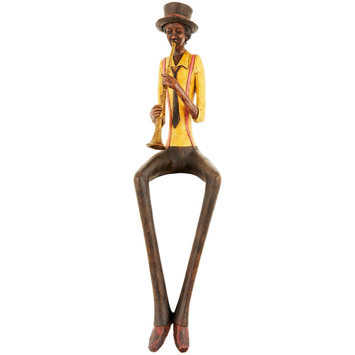 STATUETA MUZICANT JAZZ CLARINET - decoratiuni