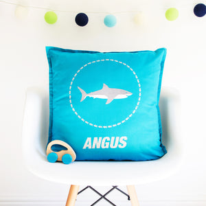 Personalised Shark Cushion