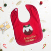 First Christmas Personalised Bib