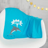 Personalised Dolphin Baby Blanket