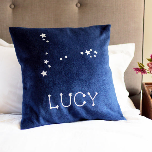 Star Sign Personalised Cushion Birthday Gift
