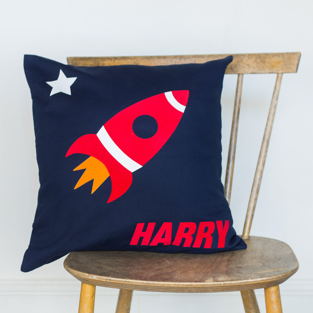Space rocket cushion