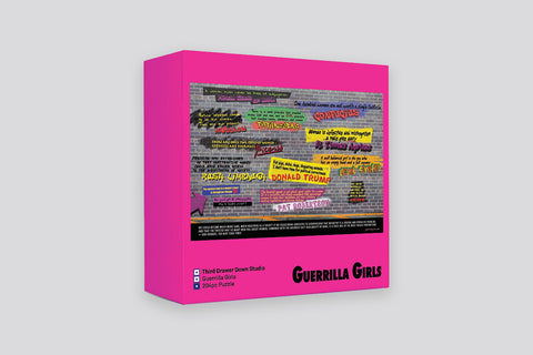 DISTURBING THE PEACE JIGSAW PUZZLE X GUERRILLA GIRLS