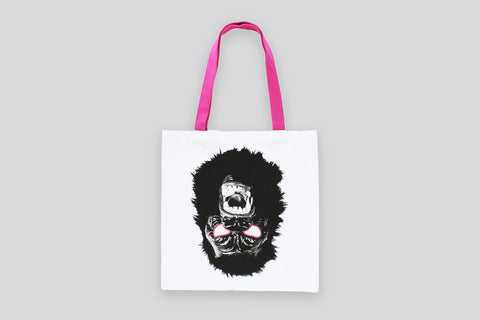 GORILLA MASK TOTE BAG X GUERRILLA GIRLS