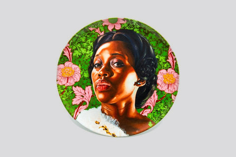 Dacia Carter II (Plate) by Kehinde Wiley